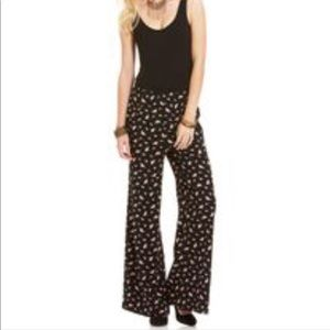 American Rag Wide Pant Jumpsuit with pockets Sz S